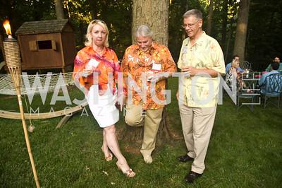 Eugenia Nesterenko, Jim L LeBlanc, David J Mitchell, Photograph by Betsy Spruill Clarke