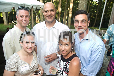 Danielle Shoot, Matt Queen, Manik K Rath, Tim A Cook, Joan Berghane, Photograph by Betsy Spruill Clarke