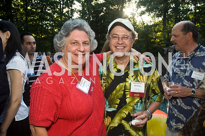 Bobbie Kilberg, Bob Dinkle, Photograph by Betsy Spruill Clarke