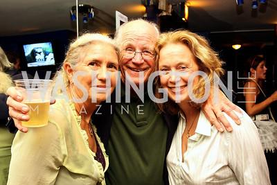 Sally Hosta, Michael Higgins, Carol Joynt, Photograph by Tony Powell