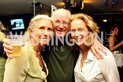 Sally Hosta, Michael Higgins, Carol Joynt, Photograph by Tony Powell