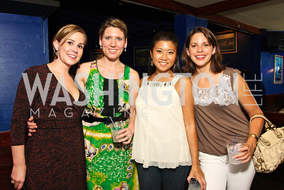 Katie Clark, Stuart Hall, Anne Lee, Annabelle Wirth, Photograph by Tony Powell