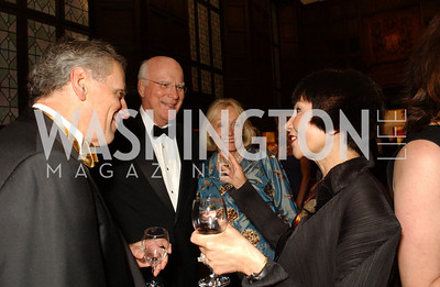 Lou DeMattei, Senator Patrick Leahy, Marcelle Leahy, Amy Tan  The annual PEN/Faulkner awards for fiction are held at the Folger Shakespeare Library in Washington, DC on Monday, September 21, 2009.   (James R. Brantley)