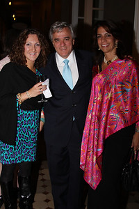 Annamaria Diaz, Julio Angel, Andrea Thimm Philip Trager Reception. October 7; 2009. Photos by Michael Domingo