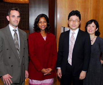 Kyle Samperton,November 19,2009,Pink Tie Dinner,John Bohlman,Jaya Bohlman,Hideo Fukushima,Kaori Fukushima