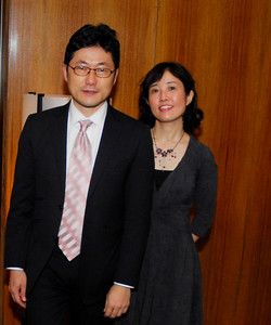 Kyle Samperton,November 19,2009,Pink Tie Dinner,Hideo Fukushima,Kaori Fukushima
