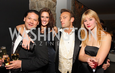 Ray Regan, Lauren Kieler, Augustus Van Wynen, Katie Foster, Photo by Tony Powell
