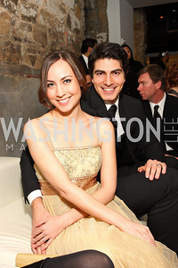 Courtney Ford, Brandon Routh, Photo by Tony Powell