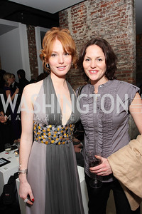 Alicia Witt, Jorja Fox, Photo by Tony Powell