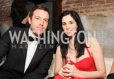 ben affleck,sarah silverman Photo by Tony Powell