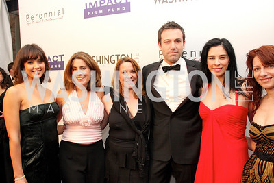 jessica alba,  kimball stroud, ben affleck, sarah silverman, jody arlington Photo by Tony Powell