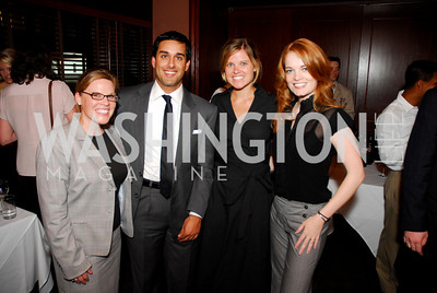 Jennifer Scoggins,Jim  Billimora,Christina Gray,Ashley Glacel, Photograph by Kyle Samperton