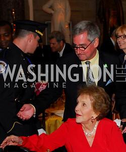 Nancy Reagan, Robert Higdon. Photograph by Kyle Samperton