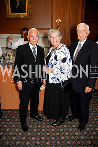 Robert Gray, Jean Gray Miller, Duane Miller. Photograph by Kyle Samperton