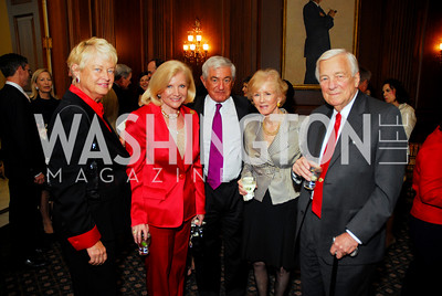 Michele Rollins, Brenda Johnson, Tim McNamar, Cynthia Whitehead, John Whitehead. Photograph by Kyle Samperton