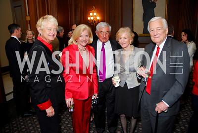 Michele Rollins , Brenda Johnson, Tim McNamar , Cynthia Whitehead, John Whitehead. Photograph by Kyle Samperton