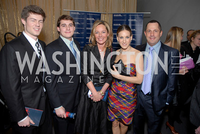 Nick Trager, Mariela Trager, Sarah Jessica Parker, Michael Trager, Photo by Kyle Samperton