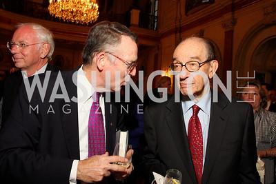 John Hyland, Alan Greenspan