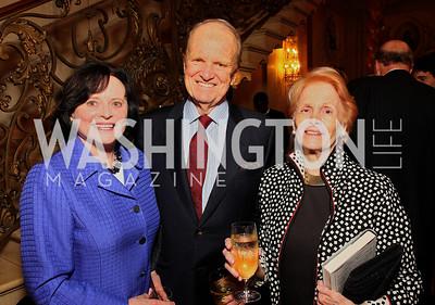 Elizabeth Stevens, Polly Kraft, George Stevens,