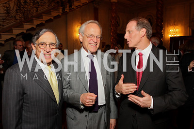 Ron Dozoretz, Martin Indyk, Richard Haass