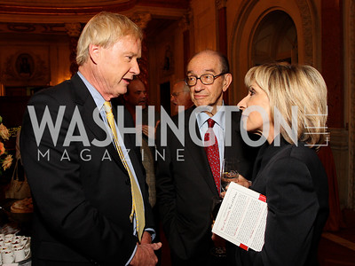 Chris Matthews, Alan Greenspan, Andrea Mitchell