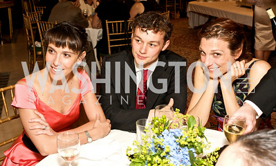 Laura Morera, Liam Scarlett, Zenaida Yanowsky, Photograph by Tony Powell