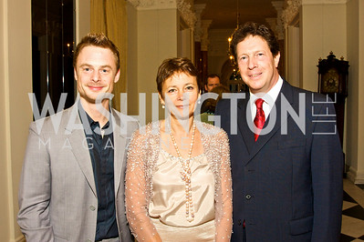 Christopher Wheeldon, Lady Julia Sheinwald, Sir Nigel Sheinwald