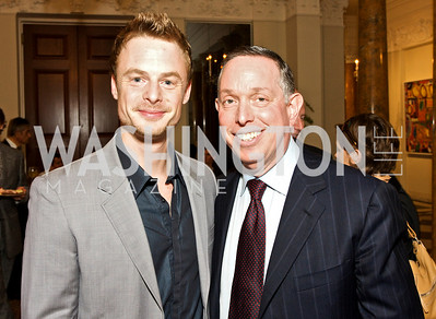 Christopher Wheeldon, Michael Kaiser, Photograph by Tony Powell