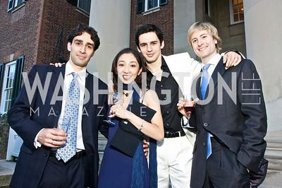Valeri Christov, Hikaru Kobayashi, Federico Bonelli, Brian Maloney, Photograph by Tony Powell