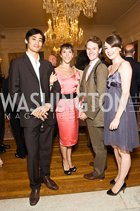 Ryoichi Hirano, Laura Morera, James Wilkie, Calvert, Photograph by Tony Powell