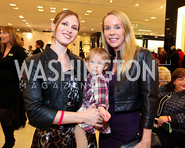 Rosie Andrews, baby Reyna Andrews, Cindy Jones. Runway En Releve REdux Fall Fashion Show to Benefit The Washington Ballet. Bloomingdale's Chevy Chase. November 13, 2009. photos by Tony Powell