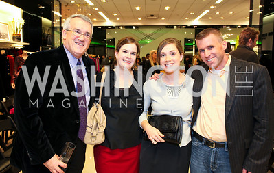 WB staff Russel Allen, Kristin Link, Laura Nunneker, Michael Hill. Runway En Releve REdux Fall Fashion Show to Benefit The Washington Ballet. Bloomingdale's Chevy Chase. November 13, 2009. photos by Tony Powell