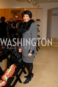 Cora Williams at the Saks Jandel Fashion Show for Knock Out Abuse at Chevy Chase.  Photo by Kyle Samperton.