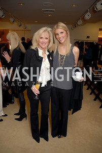 Laurie and Brooke Monahan at the Saks Jandel Fashion Show for Knock Out Abuse at Chevy Chase. Photo by Kyle Samperton.