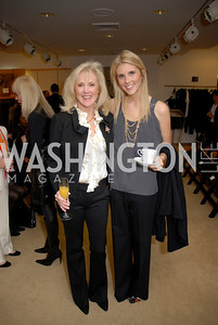 Laurie Monahan and Brooke Monahan at the Saks Jandel Fashion Show for Knock Out Abuse at Chevy Chase. Photo by Kyle Samperton.
