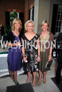 Myra Moffett, Mary Ourisman, Kay Kendall