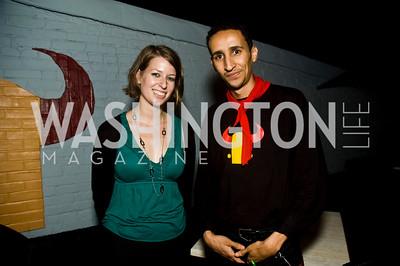 Alli Pregulman, Abdul Fawzi (Photo by Betsy Spruill Clarke)