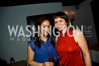 Jessica Tavares, Simona Faro (Photo by Betsy Spruill Clarke)