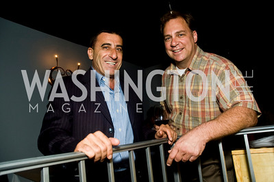 Vittorio Rosso, Ron Napolillo (Photo by Betsy Spruill Clarke)