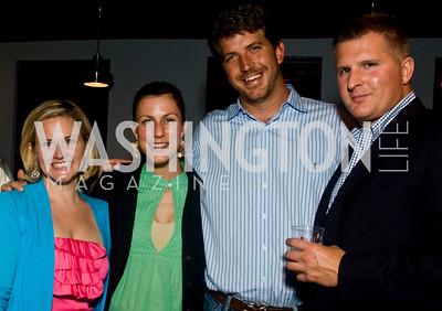 Sassy Jacobs, Megan Paleologos, John Paleologos, Ryan Kaltenbaugh (Photo by Betsy Spruill Clarke)