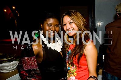 Makeda Saggau-Sackey, Anchyi Wei (Photo by Betsy Spruill Clarke)