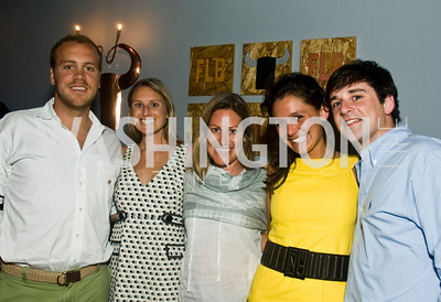 Adam Stifel, Laura Davis, Megan Delany, Margie Hawk, Patrick Garaghty, (Photo by Betsy Spruill Clarke)
