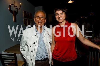 Giuseppe  Farruggio, Simona Faro (Photo by Betsy Spruill Clarke)