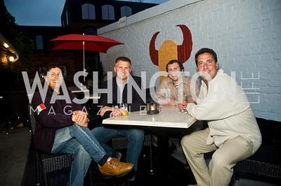 Roberto Kokolis, Ryan Kaltenbaugh, Dane Patrick Brennan, Thomas Cook (Photo by Betsy Spruill Clarke)