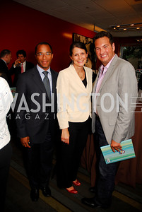 Jonathan Capehart, Courtney O'Donnell, Marc Adelman