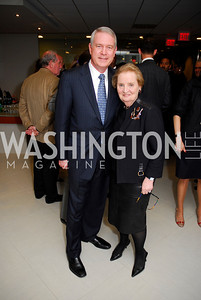 Tom Carter, Madeline Albright
