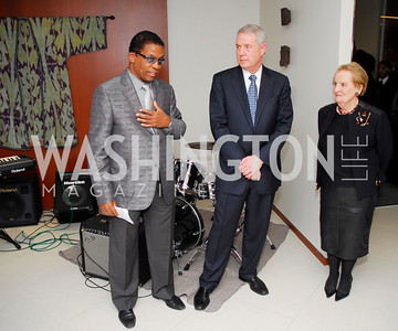 Herbie Hancock, Tom Carter, Madeline Albright