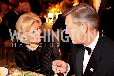 Joan Carl and Ted Miller. Sibley Hospital Hope & Progress Gala. Four Seasons Hotel. November 7, 2009. photos by Tony Powell