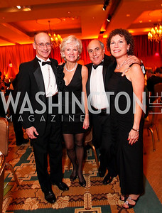 * Dr. Martin and Becky Brown, Dr. Donald and Susan Infeld. Sibley Hospital Hope & Progress Gala. Four Seasons Hotel. November 7, 2009. photos by Tony Powell