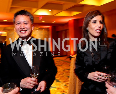 Dr. Jeffrey and Luciana Lin. Sibley Hospital Hope & Progress Gala. Four Seasons Hotel. November 7, 2009. photos by Tony Powell